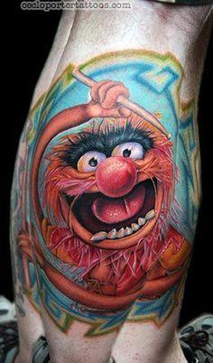 Smosh Lasercorn Tattoo