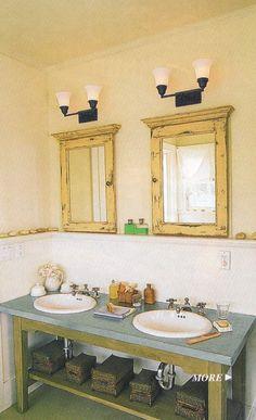 a custom bathroom vanity