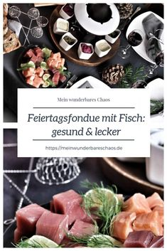 Fondue mit leckerem Fisch von Deutsche See - Mein wunderbares Chaos