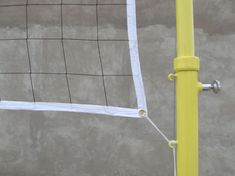 #VolleyballNet  Type of net: knotless net  Material: high strength polyester yarn  Process: UV treatment and heat setting