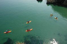 Kayaking in Pembrokeshire...