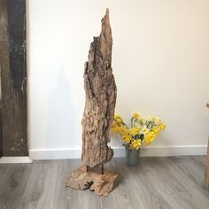 These unique wood Artefacts are fantastic features for any home whether they are placed in your hallway or outside in the garden. Many customers choose to decorate the sculptures with fairy lights and accessories to add character to their home and garden.  Constructed from a solid piece of teak root, this item creates a real statement, especially where you wish to promote your sustainability credentials. Each piece is completely individual and free standing.