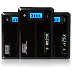 NEXTBROS 2nd Gen 10000mAH Power Bank LED Display Universal Ultra Compact Dual port Portable Charger for iPhones iPads Samsung Galaxy phones  Notes Nokia more Phones and Tablets >>> You can get additional details at the affiliate link Amazon.com.