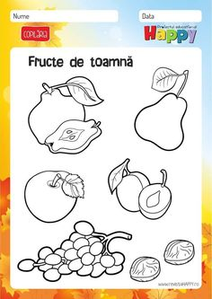 Preschool Learning, Kindergarten Activities, Infant Activities, Activities For Kids, Crafts For Kids, Preschool Coloring Pages, Fall Coloring Pages, Cartoon Coloring Pages, Autumn Crafts