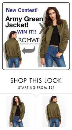 """""""New contest. WIN JACKET! JOIN"""" by merylicious91 ❤ liked on Polyvore"""
