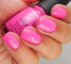 China Glaze I'll Pink To That 2