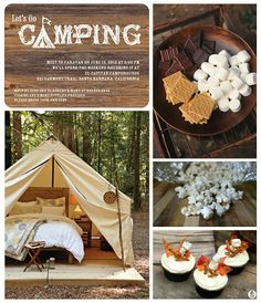 camping party inspiration