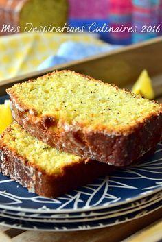Cake citron pavot au babeurre