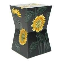 Sunflower Stand in Black Finish