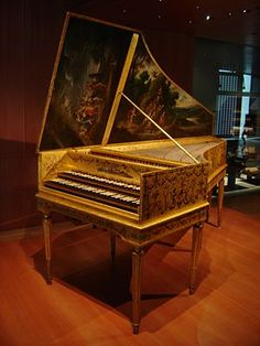 This harpsichord is the work of two celebrated makers: originally constructed by Andreas Ruckers in Antwerp (1646), it was later remodeled and expanded by Pascal Taskin in Paris (1780).