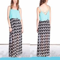 HP 7/23 - The VICTORIA beauty BOTTOM PRICE, NO FURTHER DISCOUNTISuper fun & light. Make a splash with this cute color combo. So I'm a little crazy about maxi dresses. But just slip on & your ready to take on the day. 60% cotton, 40% polyester. ‼️NO TRADE, PRICE FIRM‼️ NOT INCLUDED IN BOGO SALE Dresses