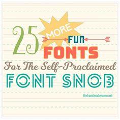 the font snob club {