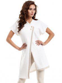Size Total lenght Chest L/XL 94 cm 108 cm S/M 94 cm 100 cm Beige, Dresses For Work, Tunic Tops, Shopping, Contours, Women, Fashion, Sleeveless Blazer, Woman Clothing