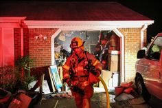 A Tuesday night fire in the 3300 block of Alcott Road left a firefighter and a homeowner injured. Smoke Damage, Emergency Medical Services, Attic Spaces, Virginia Beach, Firefighter, Ems, Photo Galleries, Around The Worlds, Fire Fighters