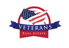 patriotic logo design for veterans real estate by the logo boutique Best Logo Design, Custom Logo Design, Custom Logos, Veteran Logo, Best Logo Maker, Cool Logo, Shirt Designs, Design Inspiration, Real Estate