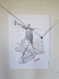 Drawing machine by Harvey Moon