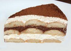 Smotanová torta, Torty, Nepečené zákusky, recept | Naničmama.sk Hana, Tiramisu, Brownies, Foods, Fit, Ethnic Recipes, Food Food, Tiramisu Cake
