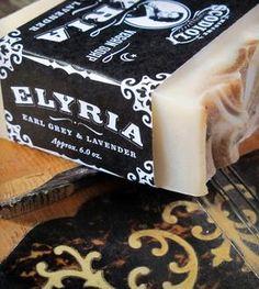 Elyria Black Tea Soap Bar