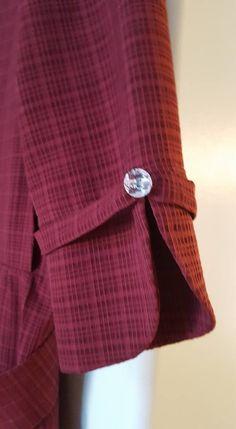 rosegal - Her Crochet Kurti Sleeves Design, Kurta Neck Design, Sleeves Designs For Dresses, Dress Neck Designs, Stylish Dress Designs, Sleeve Designs, Blouse Designs, Simple Kurti Designs, Salwar Designs