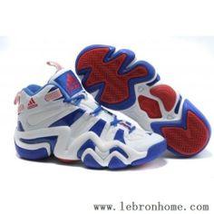 Adidas Crazy 8 Kobe Bryant Blanc Bleu Rouge Chaussures