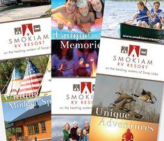 Smokiam RV Resort - Big Rig Media - Print Design - Banner Design