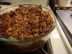 Quinoa Apple Crumble