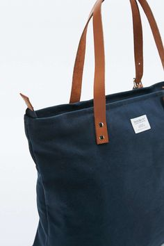 5ca90a726 Sandqvist | ANDY navy | Amalfino | Canvas tote bags, Blue bags, Bags