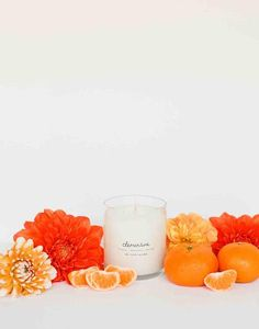 Fair Trade Clementine Scented Soy Candle