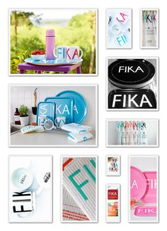 """FIKA Collection by """"I Love Design"""" (www.ilovedesign.net) - coffee cups, tea towels, napkins, trays (3 sizes), dish cloths.... Great vibrand collection of modern home accessories. Please contact us for any retail enquirements."""