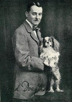 "Alfred  ""Bosie"" Douglas with Winston"