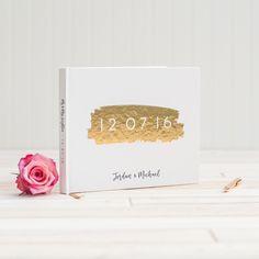 Wreath Guestbook  Wedding Journal  Custom By Juliahartliebdesign