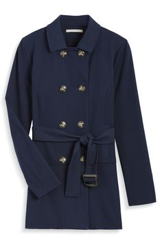 Stitch Fix Fall Styles: Navy Trench Coat