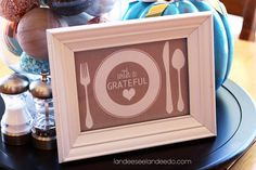 Thanksgiving Grateful Heart Printable