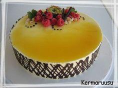 Täytekakkupohja - Kermaruusu - Vuodatus.net Amazing Cakes, Pudding, Sweet, Desserts, Nice Cake, Cakes, Candy, Tailgate Desserts, Deserts