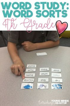 Make word study fun with these hands-on, interactive word sorts for first grade. Complete with 'how-to' directions, use the ideas in this resource for small group phonics instruction, in a spelling journal as a word sort, as a literacy center or game for