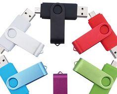 Stick USB double-end  Stick-ul USB double-end este un gadget inovativ care te ajuta la transferul rapid de date dintre smartphone-ul tau si/sau pc.  Este prevazut cu un capac de metal protector dar are si capace din cauciuc pentru cele doua capete (USB si miniUSB).