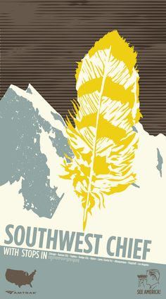 amtrak posters | IDO Design: Southwest Chief Poster Progress 2
