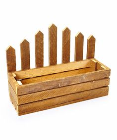 Look at this Picket Fence Planter on #zulily today!
