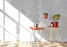 Copper topped for eclectic interiors,