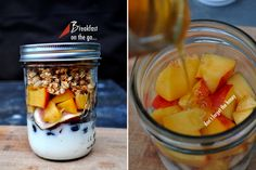Breakfast in a jar on the go!