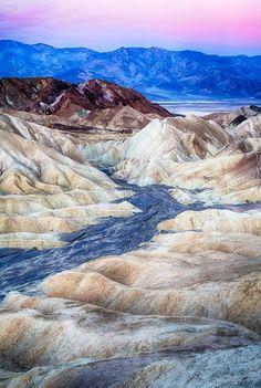 Zabriskie Point, Death Valley National Park. California.