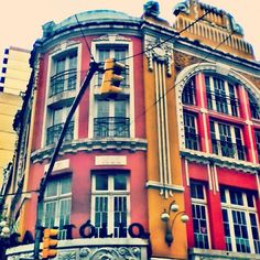 antigo cinema Capitólio - Porto Alegre - Brasil
