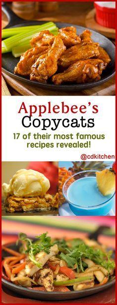 Applebees Recipes, Copykat Recipes, Sauce Recipes, Beef Recipes, Chicken Recipes, Cooking Recipes, Baked Chicken, Easy Chinese Recipes, Famous Recipe