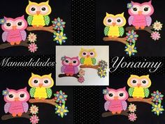 MANUALIDADES YONAIMY: julio 2014 Foam Crafts, Little Girls, Applique, Baby Shower, Paper, Youtube, Fabric, Projects, Google