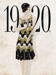 flapper girl drawings - Google Search