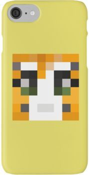 Stampy Minecraft skin iPhone 7 Cases