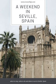 Planning a weekend break to Seville? Here's my guide for where to stay, where to eat and what to do in Sevilla, Spain. Travel Guides, Travel Tips, Seville Spain, Weekend Breaks, Prado, Spain Travel, European Travel, Places To Travel, Life Is Good