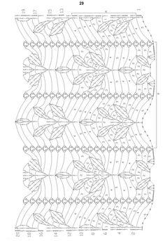 ::Pontos em crochê - Esquemas - Graficos