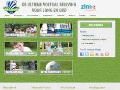 Fun & Voetbal | Website Zeeland