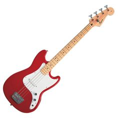 Squier by Fender Affinity Bronco Bass, Torino Red at Gear4Music.com
